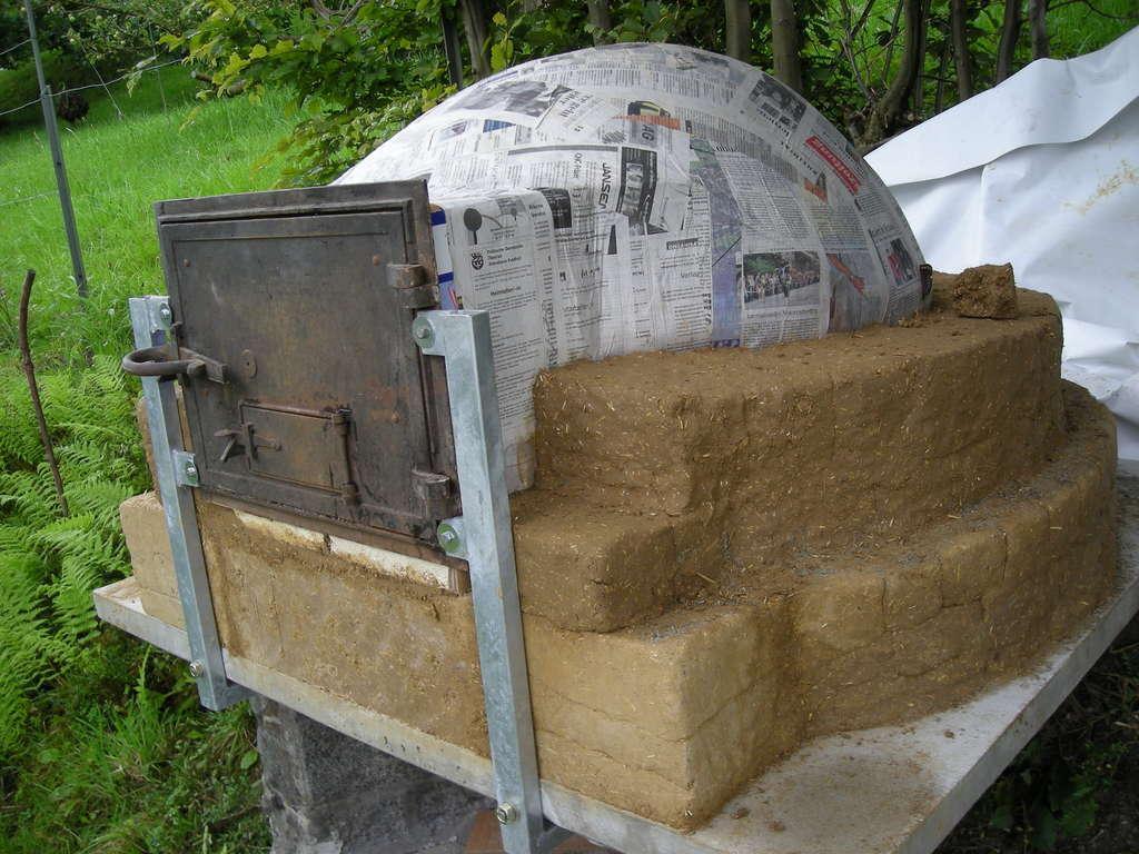Глинобитная печь технология изготовления своими руками