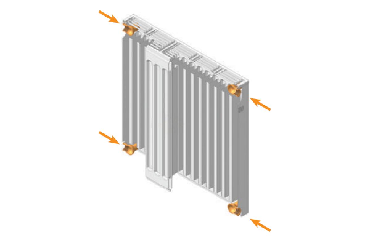 Стальные радиаторы отопления прадо и их особенности - учебник сантехника