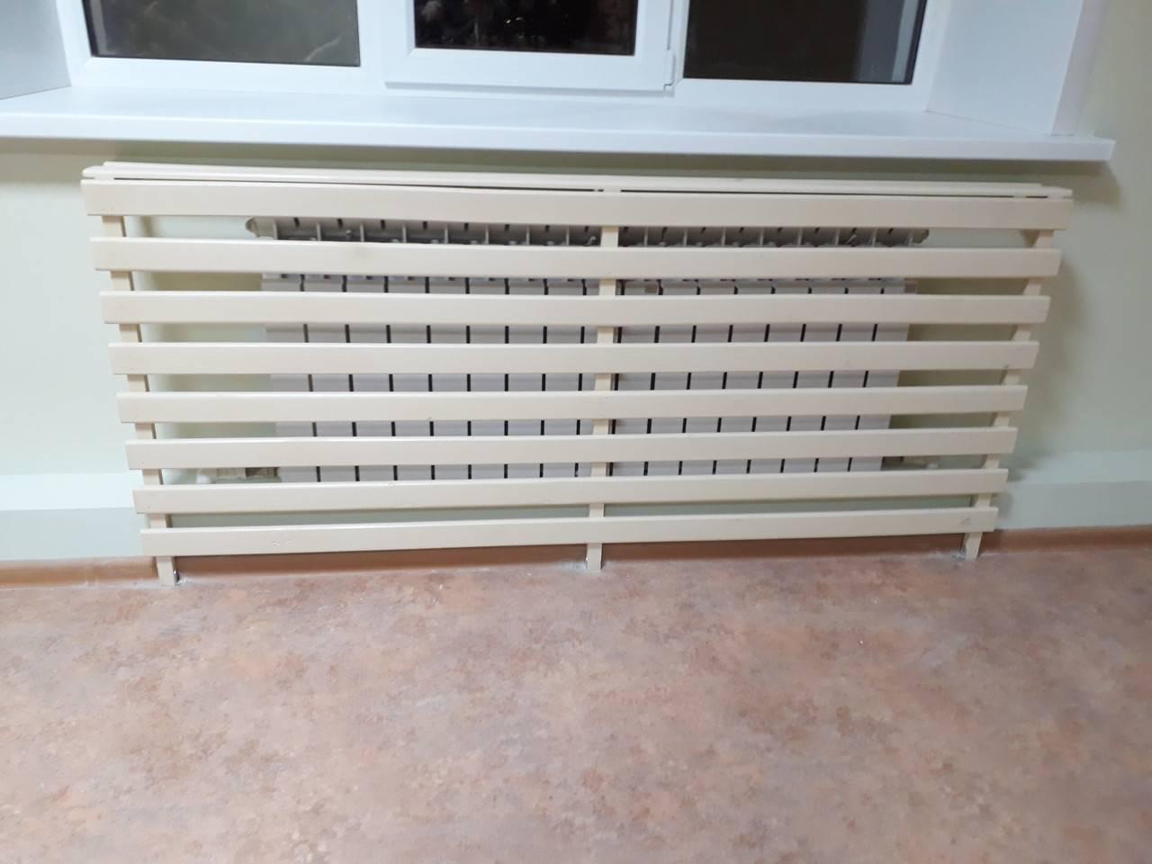 Декоративная решетка для радиатора отопления своими руками - всё об отоплении и кондиционировании