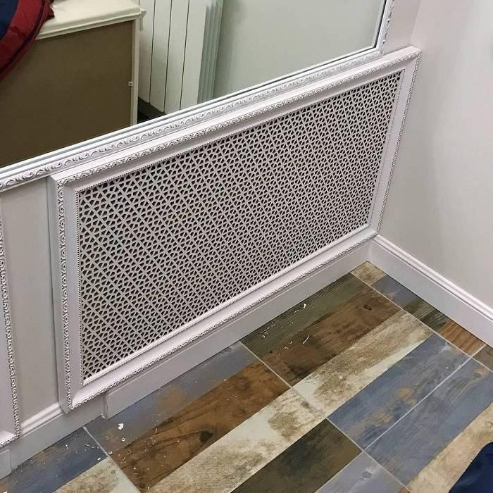 Экран на батарею отопления: защитный и декоративный элемент в помещении – советы по ремонту