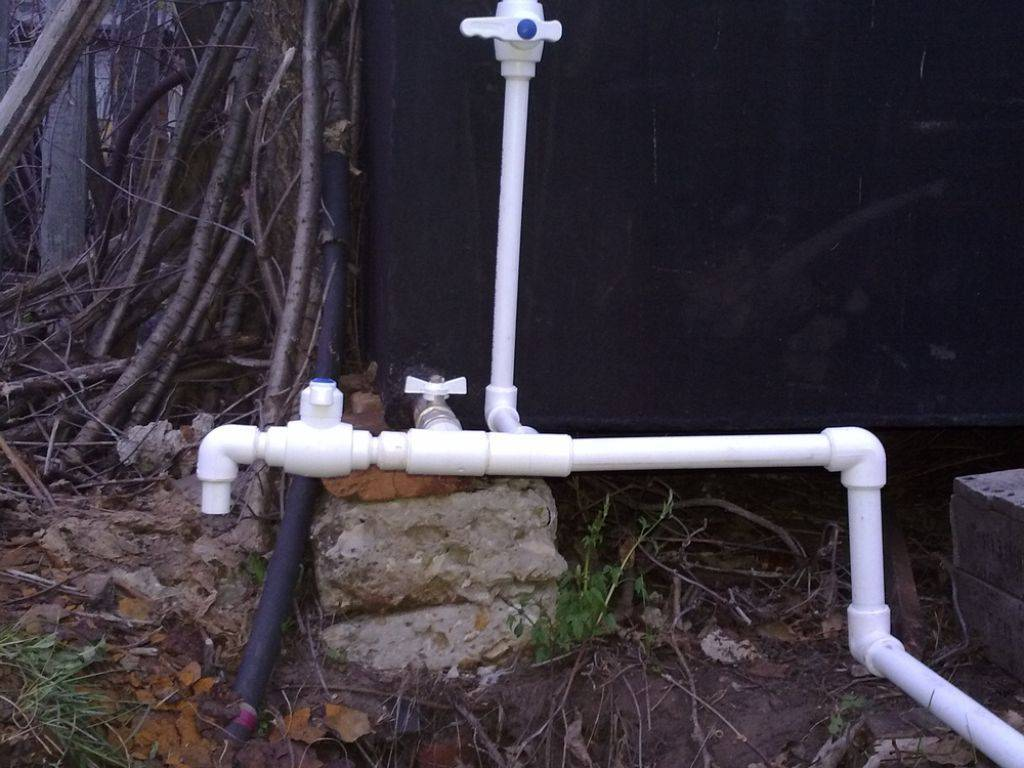 Летний водопровод на даче своими руками из полипропиленовых труб летний водопровод на даче своими руками из полипропиленовых труб