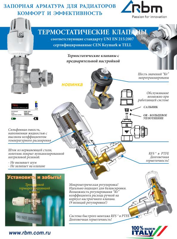 Какой клапан радиаторный запорный лучше выбрать – варианты арматуры