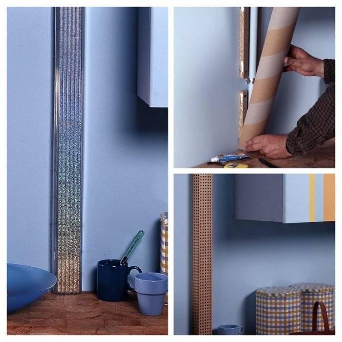 Как задекорировать трубу: как украсить трубу отопления, как декоративно закрыть в комнате
