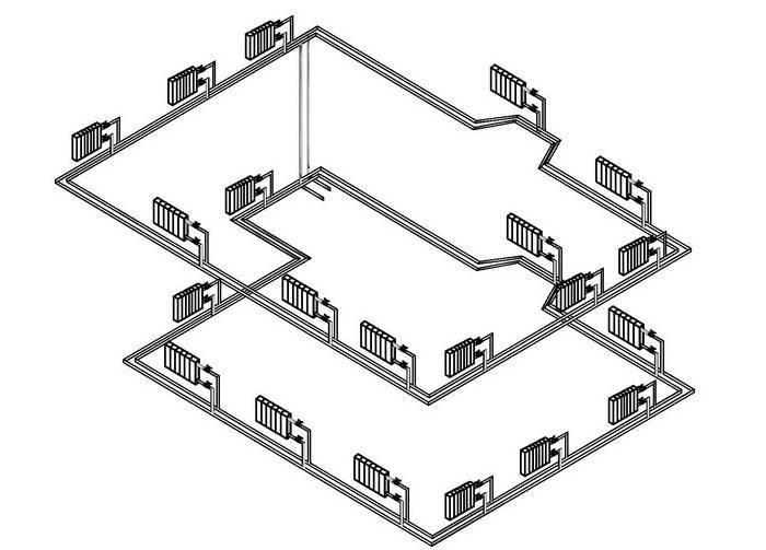 Расчет радиаторов отопления по площади в частном доме: как рассчитать количество батарей