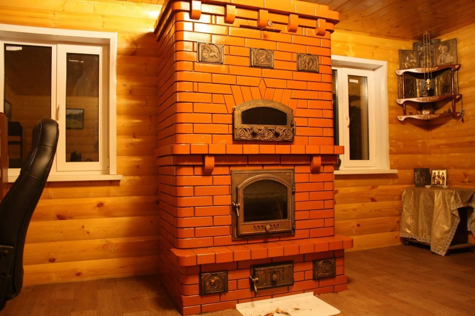 Как строится мини русская печь своими руками?