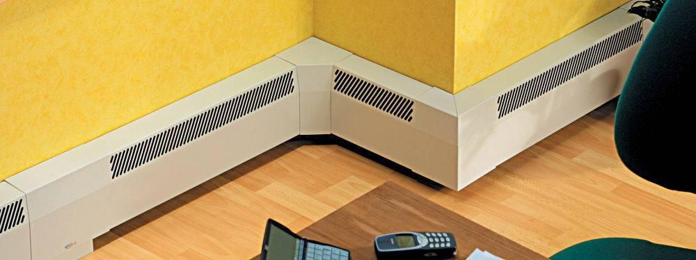 Плинтусное отопление: комфортно, красиво, экономно