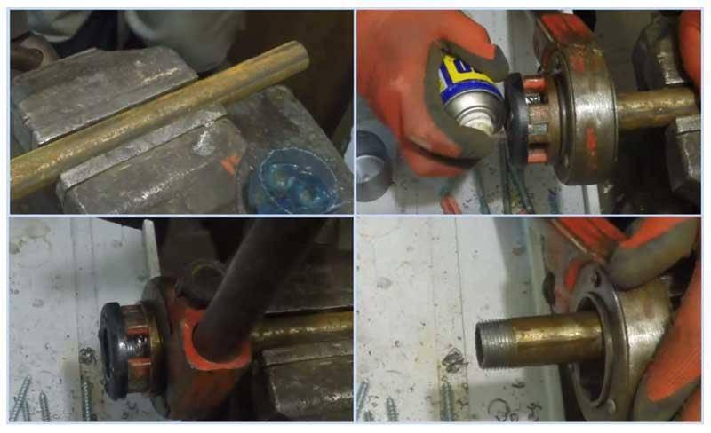 Как нарезать резьбу на трубе своими руками правильно: инструмент, инструкция