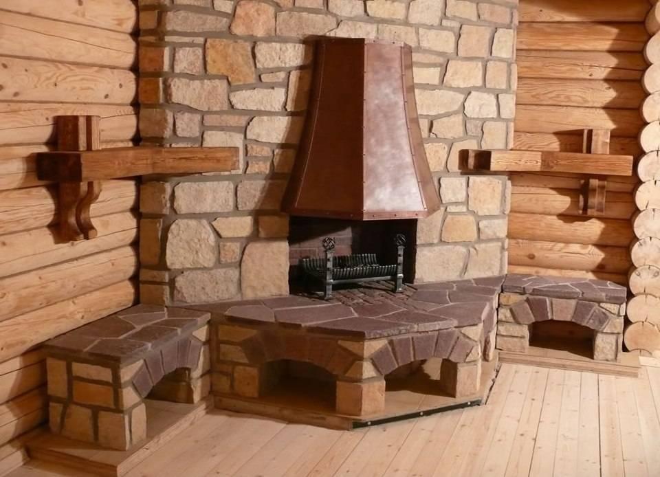 Как сделать камин в деревянном доме – пошаговое руководство