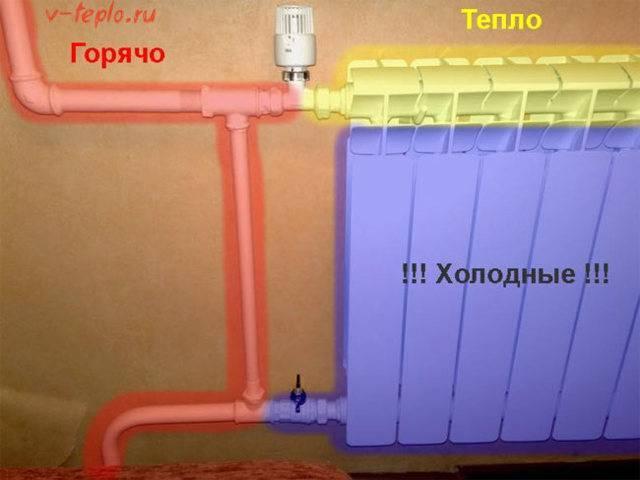 Как понизить температуру обратки в системе отопления. обратка батареи отопления холодная – устройство, причины, способы устранения