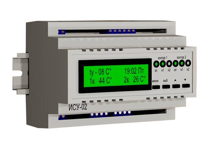 Автоматика систем отопления частного дома, управление