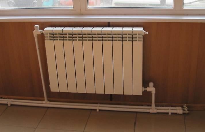 Подключение радиатора отопления к полипропиленовым трубам