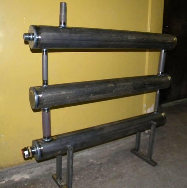 Самодельные радиаторы отопления из труб - собираем и монтируем своими руками