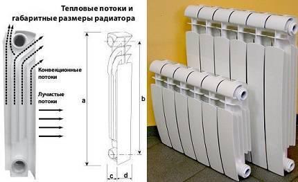 Подбираем размер радиаторов отопления
