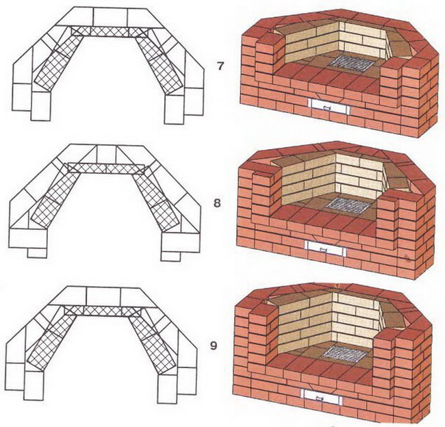 Как сделать угловые камины своими руками, проект и кладка