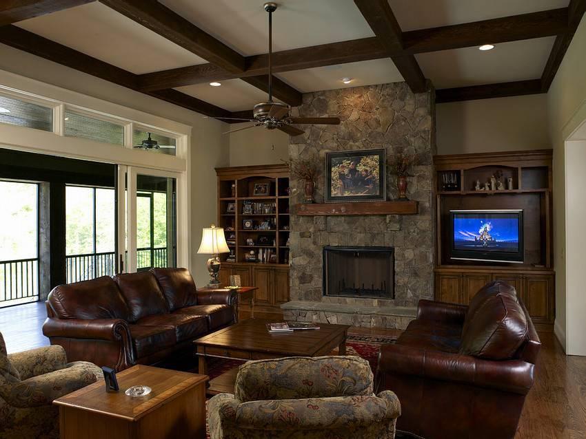 Дизайн зала в доме - секреты оформления интерьера гостиной