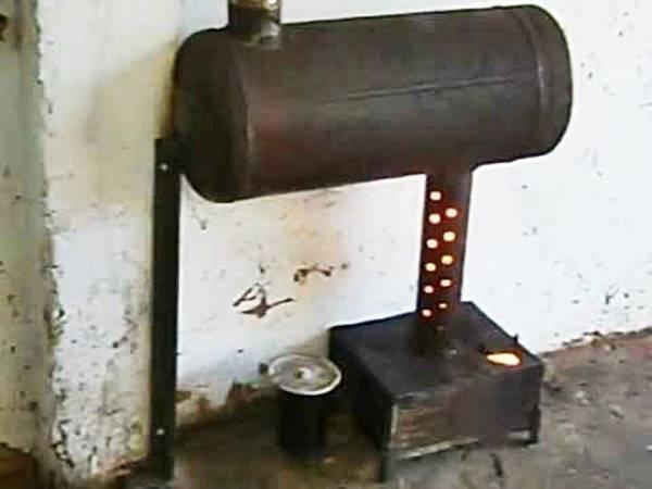 Чертежи печи из газового баллона на отработке: подробная инструкция по сборке и эксплуатации.