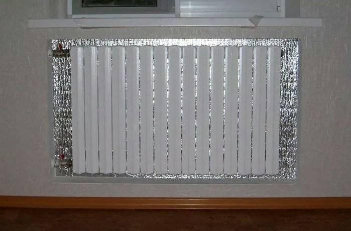Как крепить экран на батарею? - отопление и водоснабжение дома и квартиры своими руками