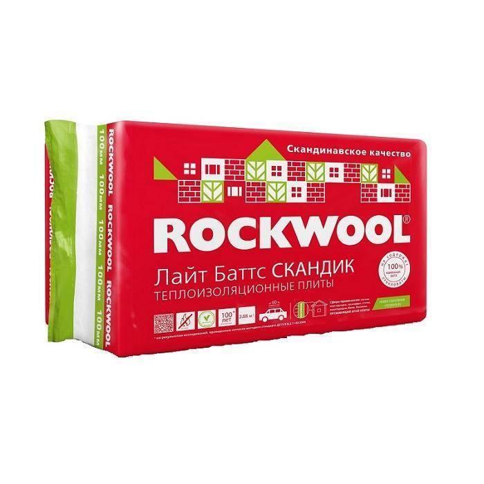 Rockwool скандик харктеристики: область применения, преимущества и недостатки