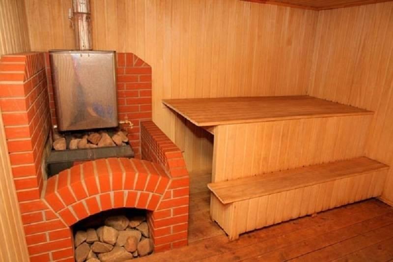 Какая печь для бани лучше - виды отопительных банных печей