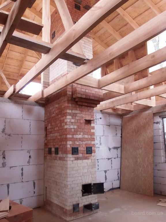 Виды двухэтажных печей с одним и двумя топливниками и правильная заливка фундамента