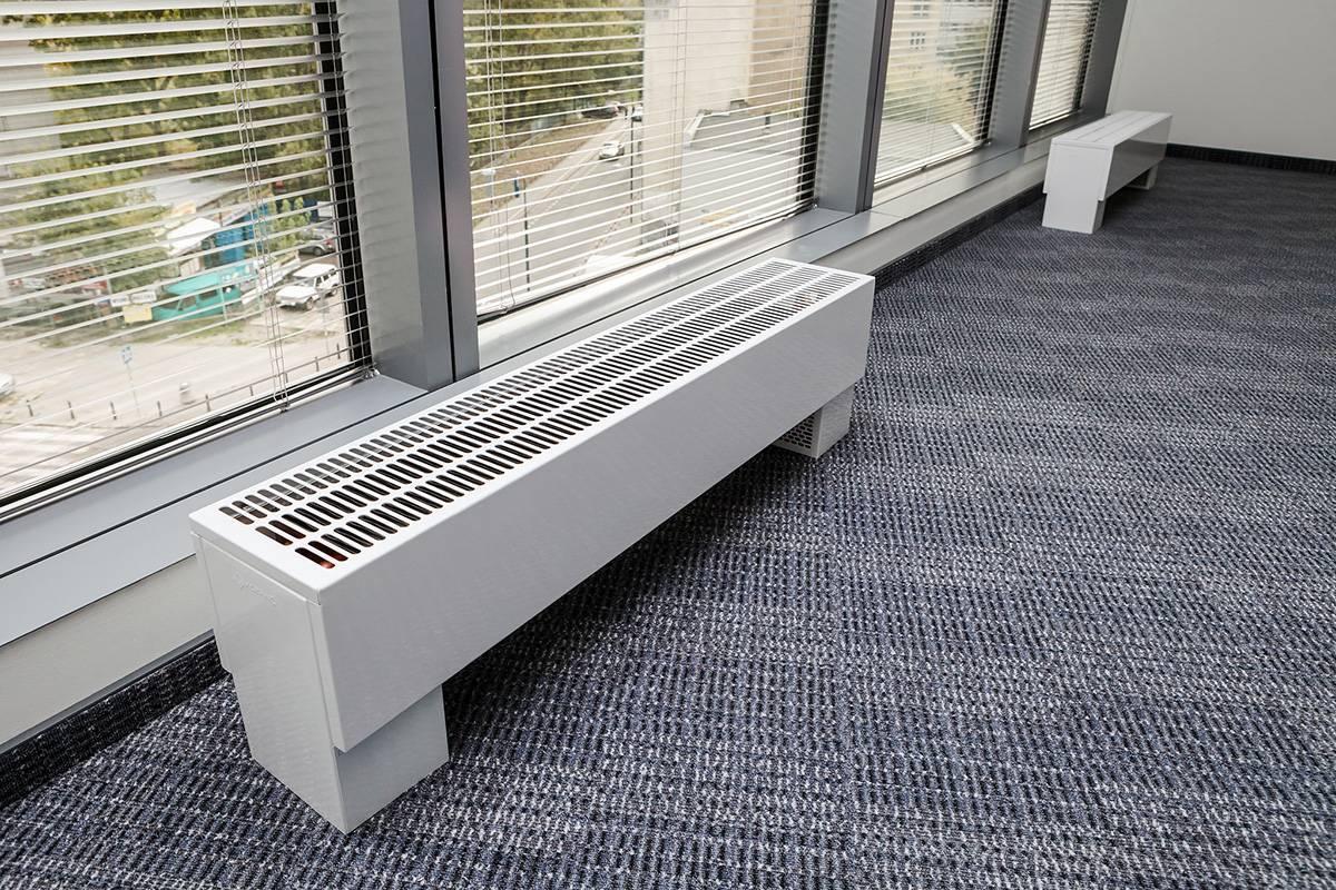 Напольные радиаторы отопления - оригинально и практично