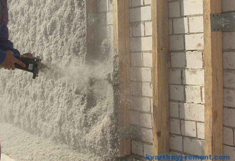 Утепление пола эковатой в деревянном доме - особенности и пошаговая инструкция