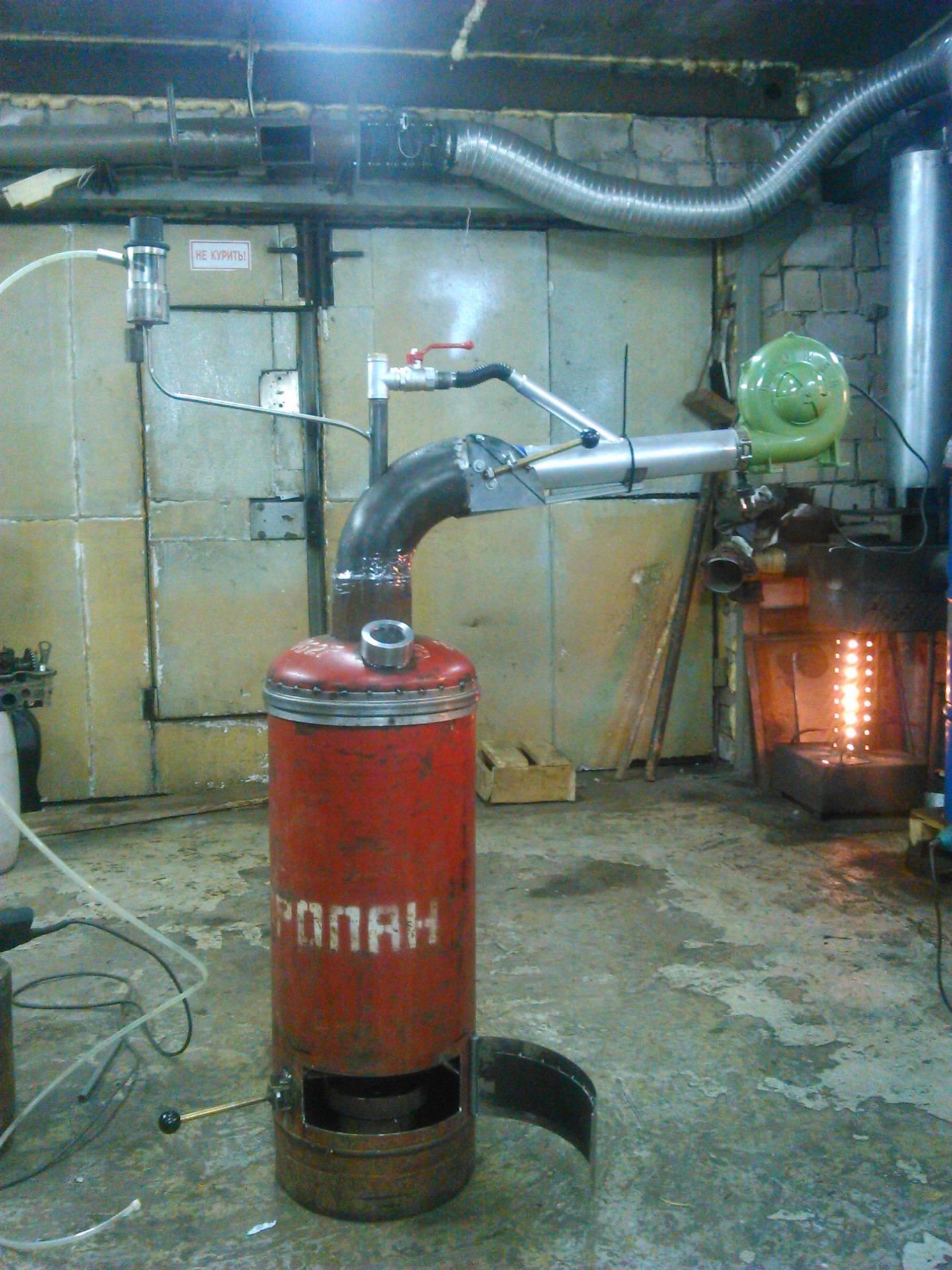 Отопление на отработанном масле своими руками - инструкция по изготовлению котла на отработке