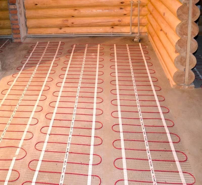 Как сделать электрический теплый пол в деревянном доме – предостережения и рекомендации