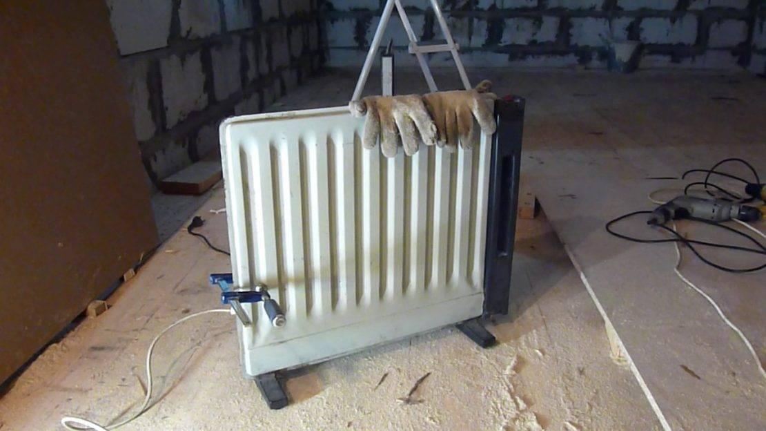 Как сделать отопление в гараже своими руками