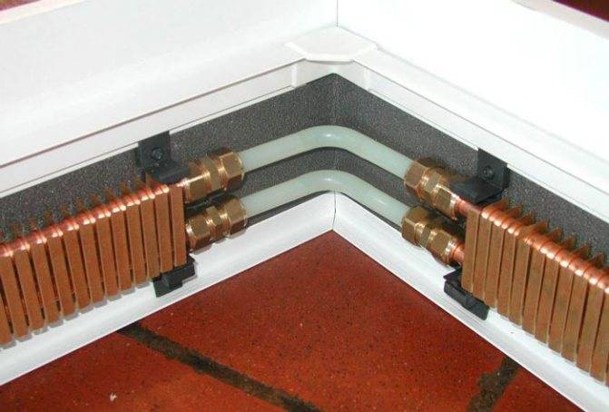 Оправдана ли установка теплого плинтуса?