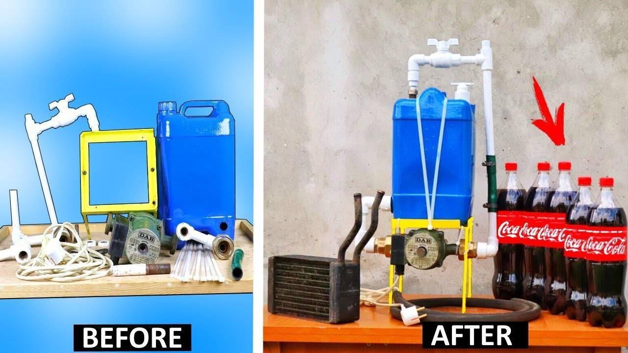 Процесс промывки теплообменника газового котла