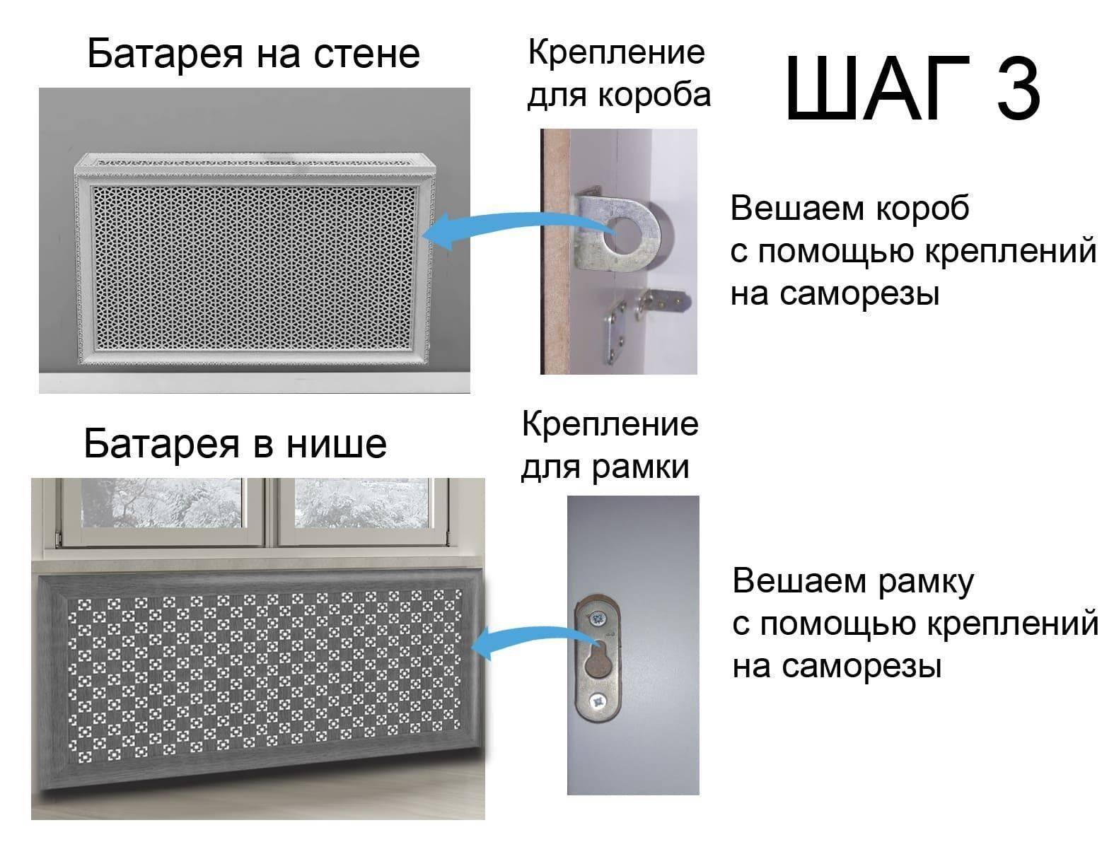 Декоративная решетка для радиатора: обзор видов решеток, материалы изготовления