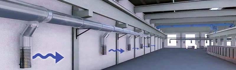 Отопление и вентиляция промышленных зданий - система отопления