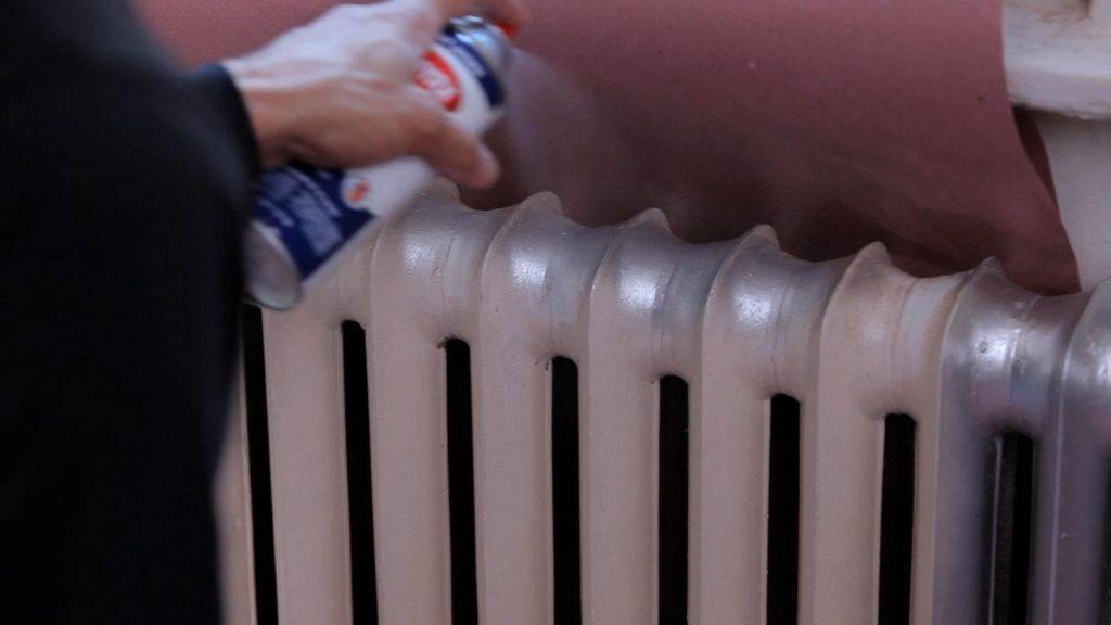 Краска для батарей отопления: виды и советы по нанесению