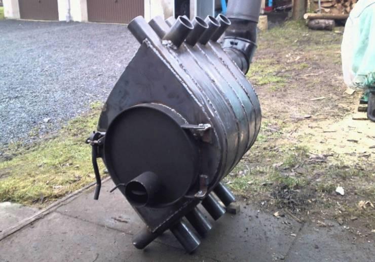 Дизельная печка для отопления. Печь на солярке