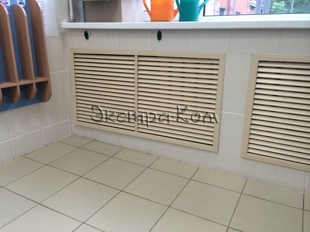 Декоративная решетка для радиатора отопления своими руками