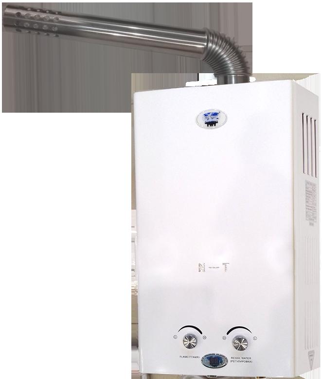 Обзор газовых водонагревателей вектор