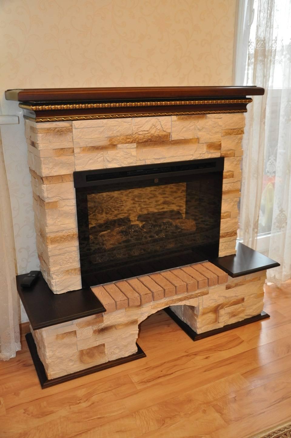 Деревянный портал для камина, выбираем подходящий вариант