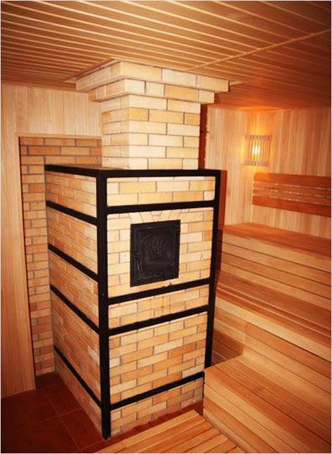 Печь каменка для бани: дровяная или электрокаменка
