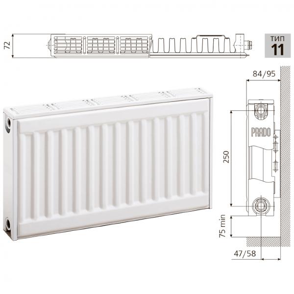 Радиаторы «прадо» - особенности конструкции и технические характеристики