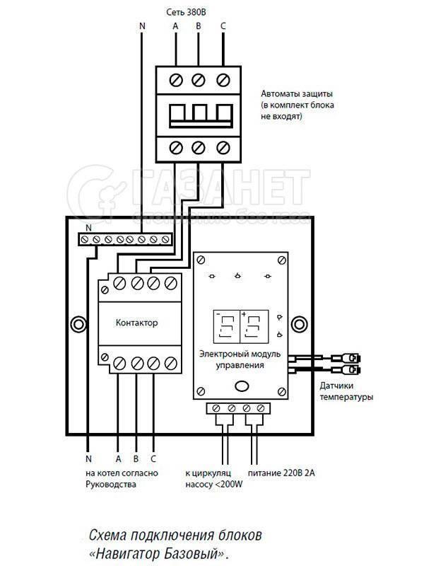 Автоматика для электрокотлов отопления