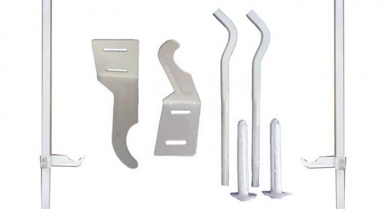 Какое крепление для радиаторов отопления выбрать – виды для разных типов батарей, различия, правила использования