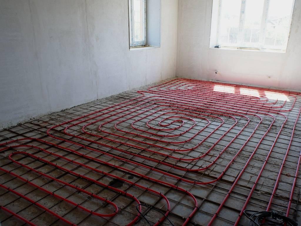 Смеси для теплого пола: состав стяжки, раствор для водяного теплого пола, сухая смесь, бетон, пропорции для заливки, марка раствора