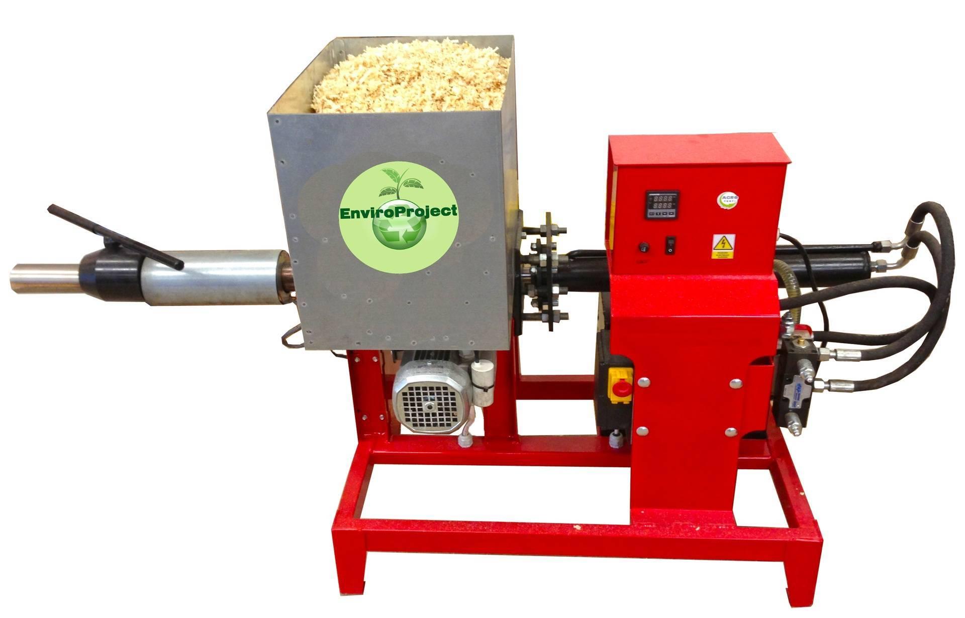 Оборудование, сырье и бизнес-план по производству топливных брикетов