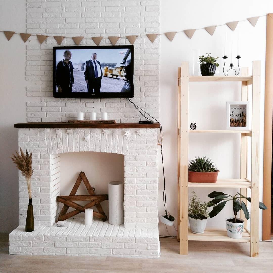 Имитация камина своими руками в интерьере квартиры: фото, варианты оформления имитация камина своими руками в интерьере квартиры: фото, варианты оформления