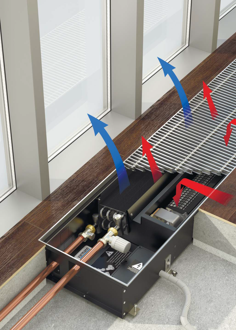 Водяные конвекторы отопления: виды правила выбора и популярные модели