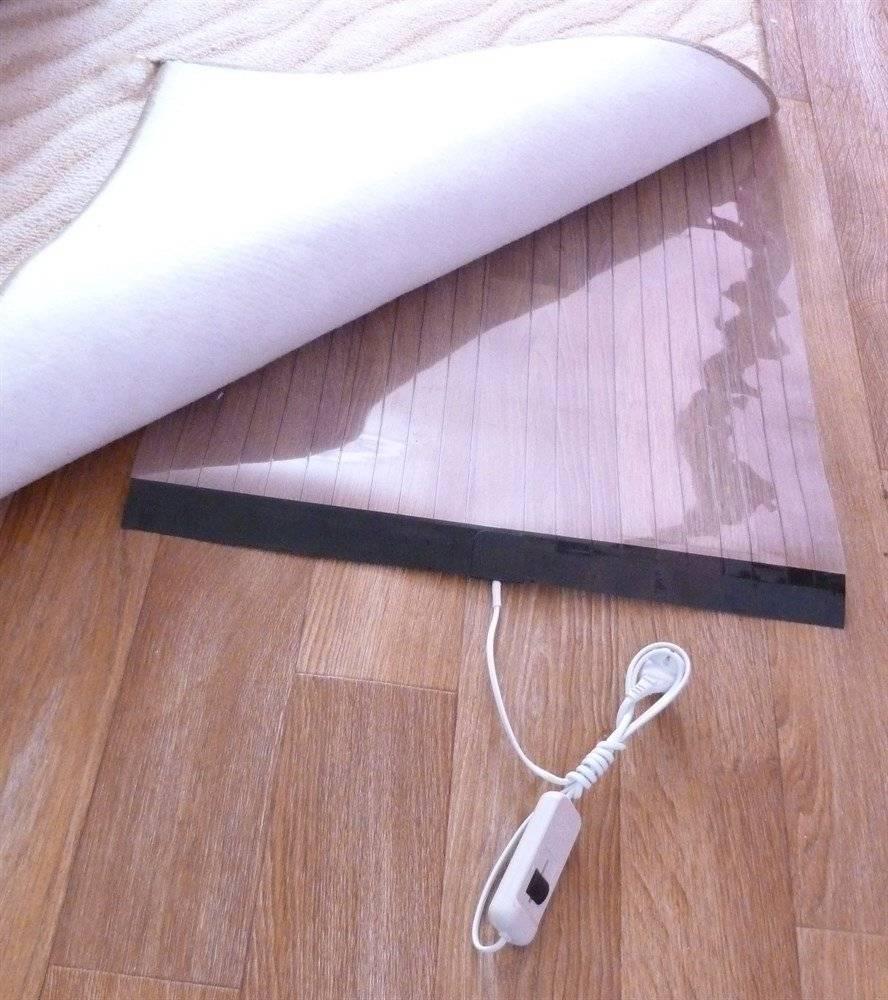 Теплый пол под ковролин: какой лучше, водяной, электрический, инфракрасный, пленочный, укладка и монтаж своими руками