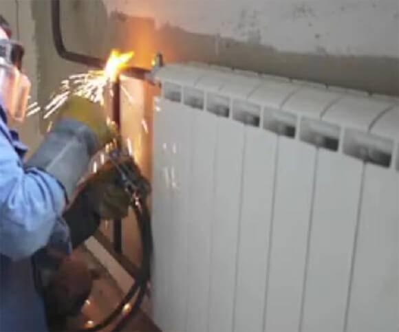Замена отопления в частном доме