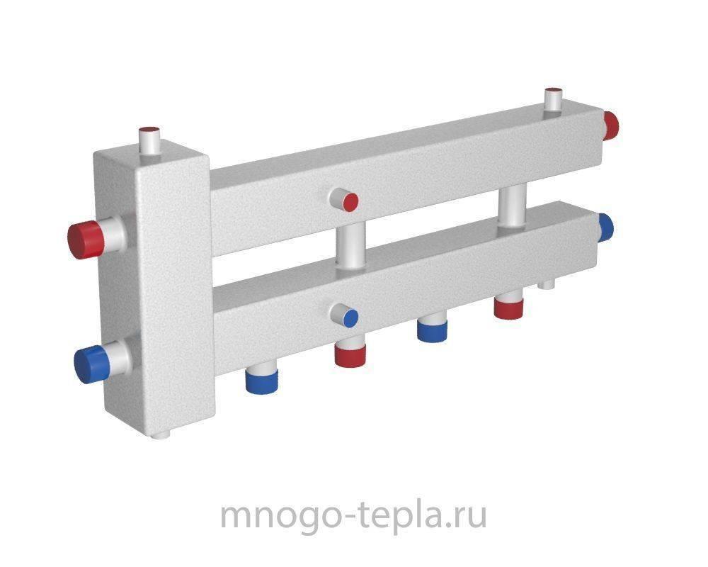 Коллекторы для отопления – принцип работы, устройство и монтаж