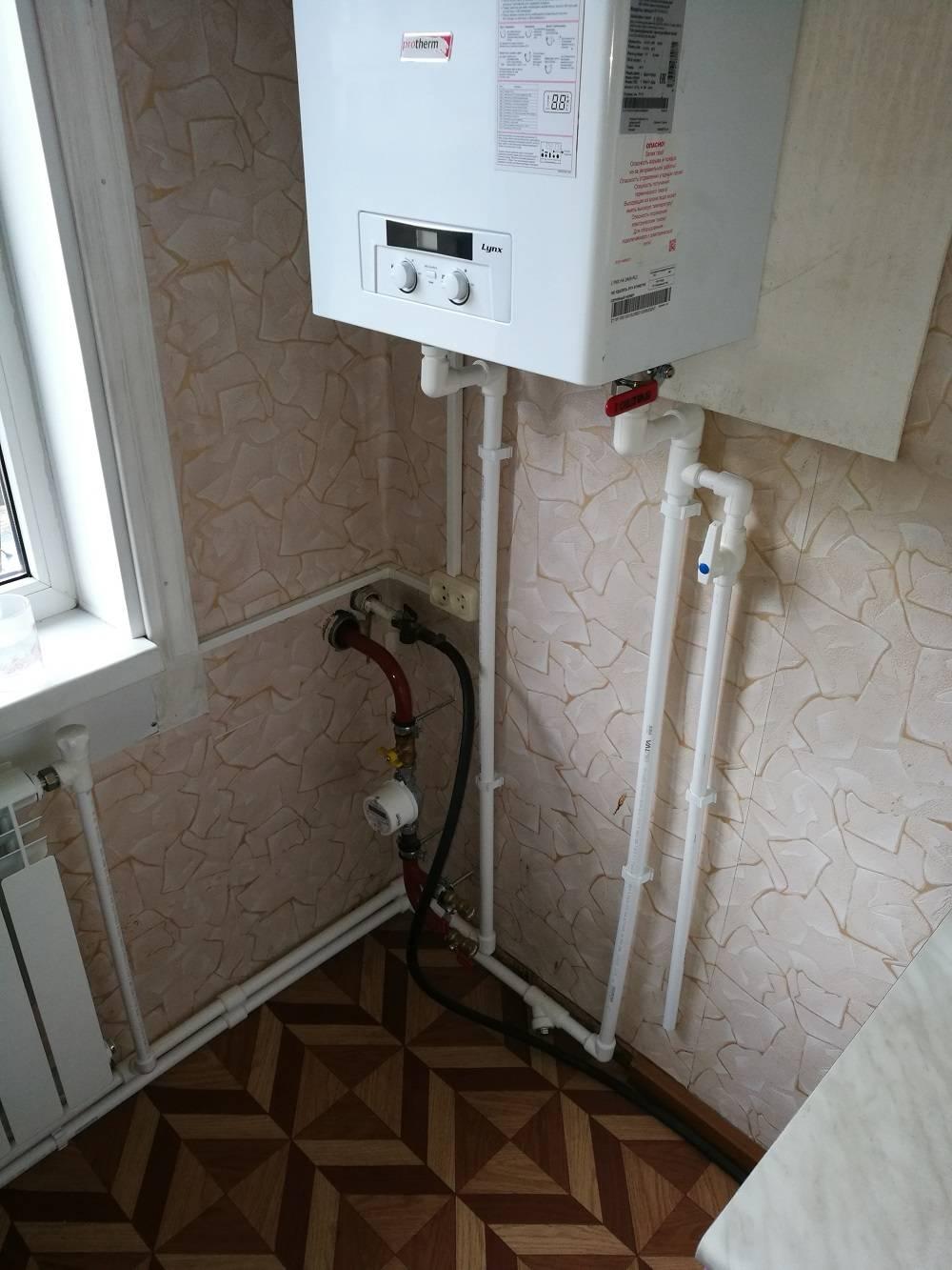Индивидуальное газовое отопление - система отопления